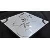 装饰玻璃镜面银家电控制面板玻璃镜面油墨