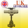 UK进口电动高压焊接调节阀.【英国UK优科】