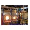设计建造连续熔化、间歇生产式玻璃电熔炉