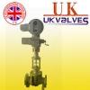 进口电动多级套筒式调节阀.英国优科UK阀门