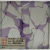 紫色立体丝布夹胶玻璃-湿法夹胶
