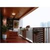 阳台户外防腐木的运用与维护